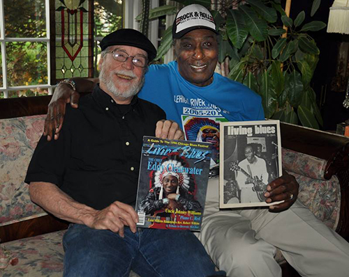 David Whiteis and Eddy Clearwater Living Blues Magazine