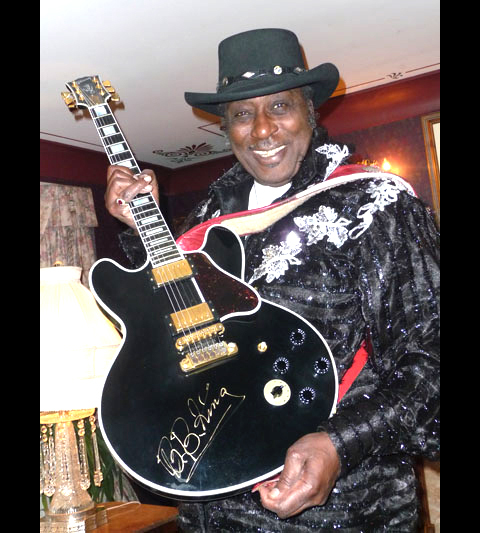 Eddy and BB King guitar