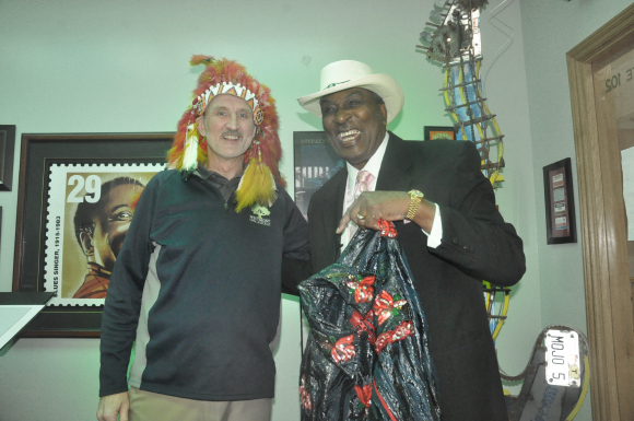 Westmont Mayor and Eddy Clearwater